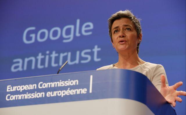 Πρόστιμο - μαμούθ €4,34 δισ. στην Google | tanea.gr
