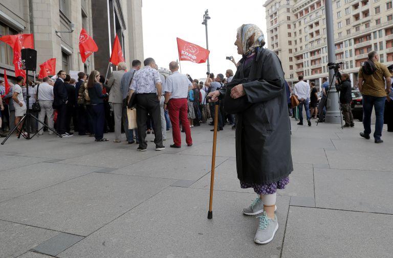 Ρωσία: Η Δούμα ενέκρινε ν/σ για την αύξηση των ορίων συνταξιοδότησης | tanea.gr
