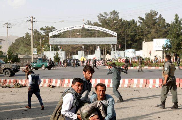Καμπούλ: 14 οι νεκροί από την έκρηξη κατά την επιστροφή του αντιπροέδρου | tanea.gr