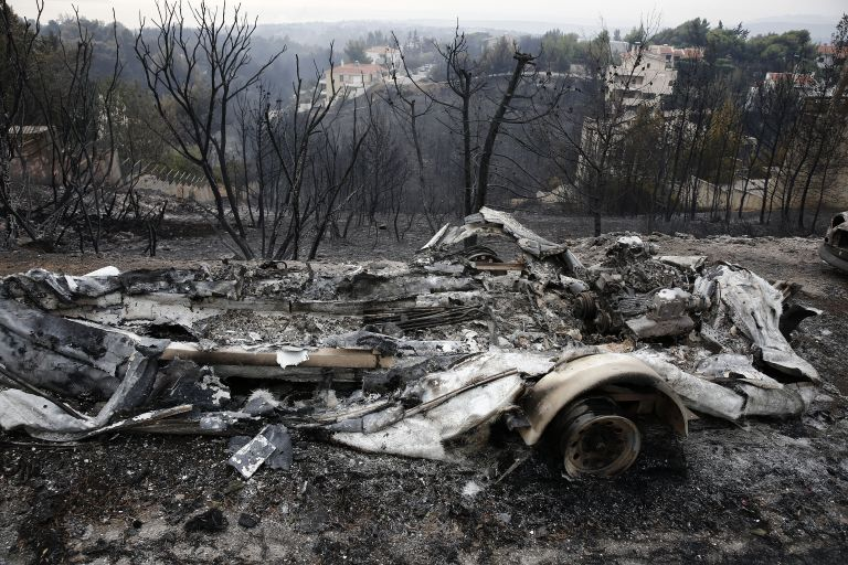Greece rocked by wildfires with dozens dead | tanea.gr