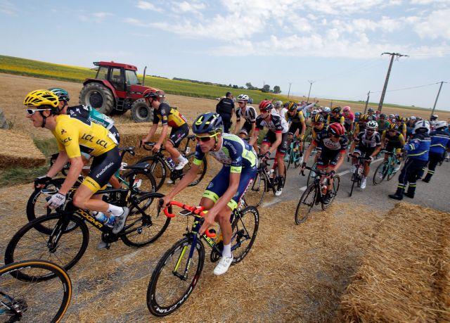 Οι ποδηλάτες έπεσαν σε μπλόκο! | tanea.gr