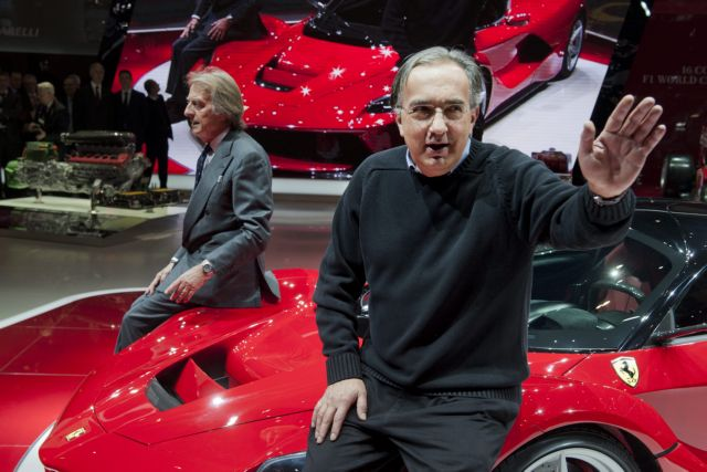 Η Ferrari ευγνωμονούσα τον Σέρτζιο Μαρκιόνε | tanea.gr