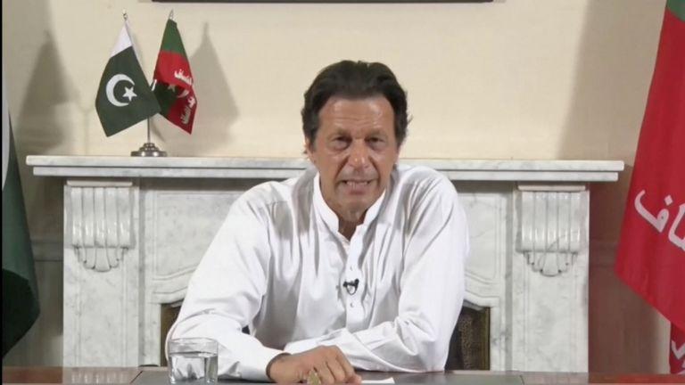 Πακιστάν: Ο Ιμραν Χαν δήλωσε ότι το κόμμα του είναι νικητής των εκλογών | tanea.gr