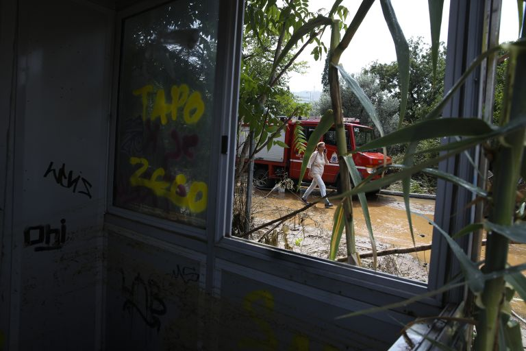 Μαρούσι : Πόλεμος Περιφέρειας – δήμου για την πλημμύρα | tanea.gr