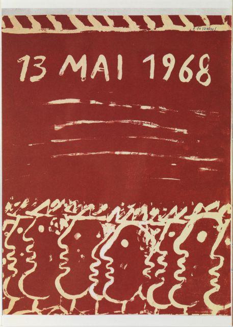 Οταν ο Φασιανός ζωγράφισε τον Μάη του '68 | tanea.gr