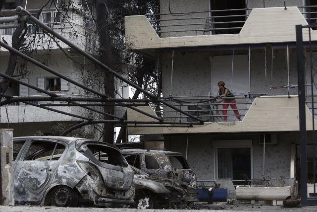 Ερείπια στις στάχτες: Συνεχίζονται οι αυτοψίες στα σπίτια των πληγέντων | tanea.gr