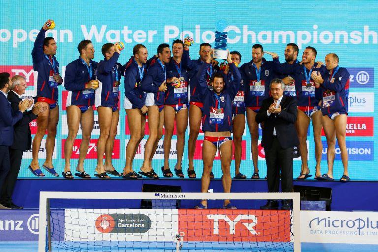 Πόλο : Πρωταθλήτρια Ευρώπης η Σερβία | tanea.gr
