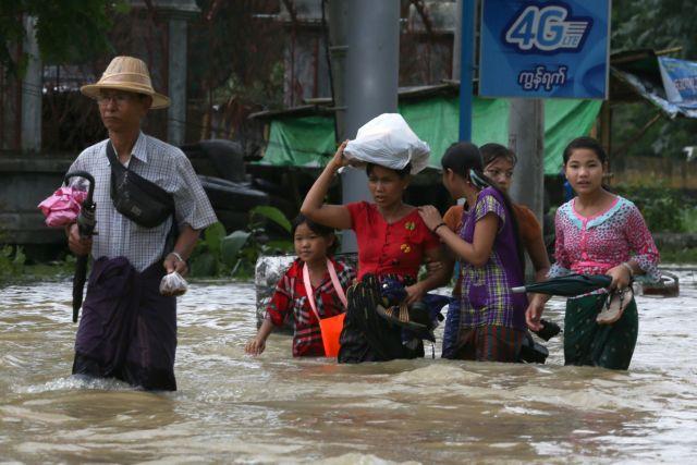 Φονικές πλημμύρες στην Μιανμάρ – Τουλάχιστον 10 νεκροί | tanea.gr