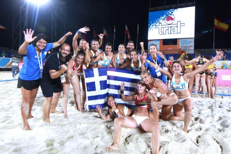 Μπιτς χάντμπολ : Παγκόσμια Πρωταθλήτρια η εθνική γυναικών | tanea.gr