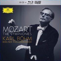 Μότσαρτ. Οι πλήρεις συμφωνίες, Φιλαρμονική Ορχήστρα του Βερολίνου, Καρλ Μπεμ, Deutsche Grammophon 10 CD και 1 bluray audio | tanea.gr