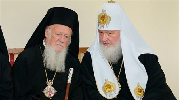 Crucial meeting between Ecumenical Patriarch, Moscow Patriarch | tanea.gr