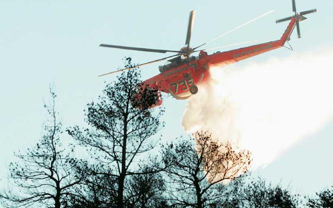 Μάτι : Το ελικόπτερο πήγε να σβήσει τη φωτιά αλλά… δεν είχε καύσιμα | tanea.gr