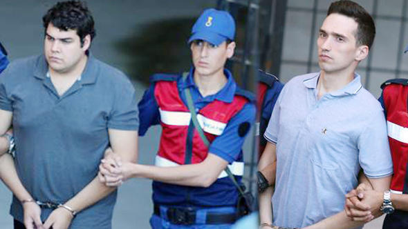 US-Turkey clash fuels Defence Ministry concern over jailed Greek officers   tanea.gr