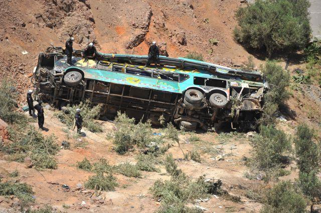 Περού: Τουλάχιστον 8 νεκροί σε τροχαίο | tanea.gr