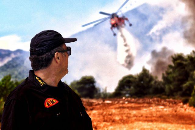 Σε ετοιμότητα ο κρατικός μηχανισμός λόγω του υψηλού κινδύνου πυρκαγιών   tanea.gr