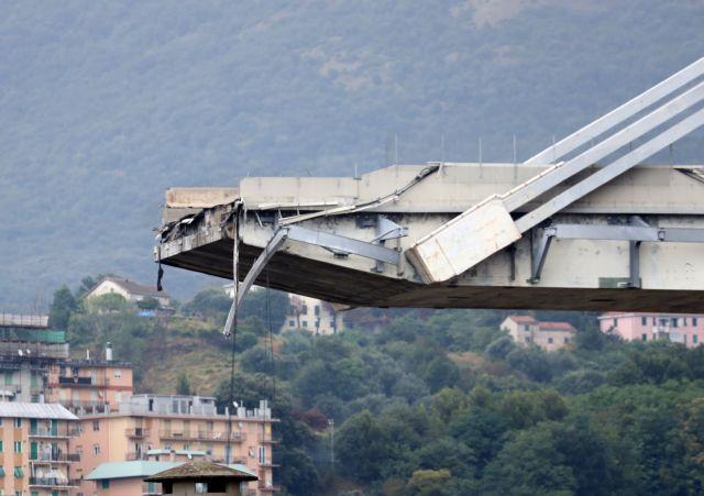 Γένοβα : Σε κεραυνό ενδέχεται να οφείλεται η κατάρρευση της οδογέφυρας   tanea.gr
