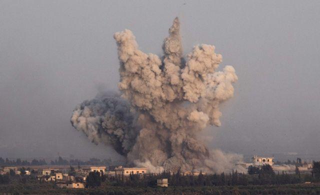 Συρία: Καθεστώς και τζιχαντιστές συγκρούονται με βομβαρδισμούς   tanea.gr