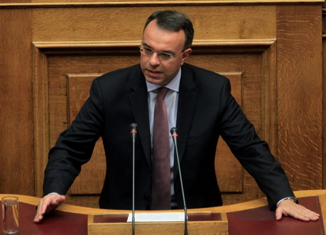 Σταϊκούρας: Ο πρωθυπουργός διακατέχεται από «πολιτική αμνησία» | tanea.gr