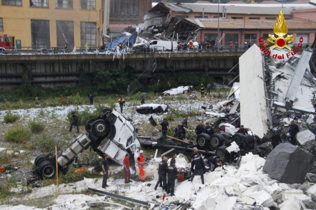 Υπουργείο Εξωτερικών: Βαθιά οδύνη για την τραγωδία στη Γένοβα   tanea.gr