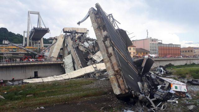 Γένοβα : Συλλυπητήρια μηνύματα Γιούνκερ για την τραγωδία | tanea.gr