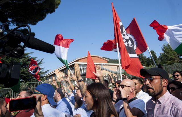 Ρώμη: Ενταση έξω από το κέντρο φιλοξενίας των μεταναστών του Diciotti | tanea.gr