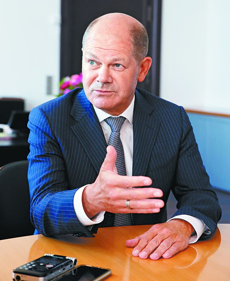 Ολαφ Σολτς: «Oι συμφωνίες πρέπει να τηρούνται» | tanea.gr