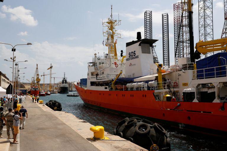 Στη Μάλτα το πλοίο Αquarius   tanea.gr
