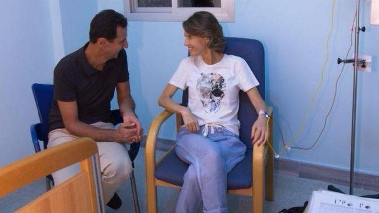 Σε θεραπεία υποβάλλεται η σύζυγος του Ασαντ | tanea.gr