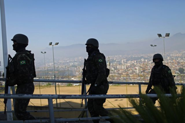 Βραζιλία: 14 νεκροί σε επιχείρηση στρατού – αστυνομίας με στόχο εμπόρους ναρκωτικών | tanea.gr
