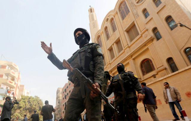 Αίγυπτος : Χριστιανική εκκλησία στόχος καμικάζι   tanea.gr