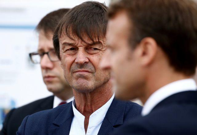 Παραιτήθηκε ο υπουργός Οικολογίας από την κυβέρνηση Μακρόν | tanea.gr