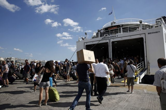 Αδειούχοι και εκδρομείς εγκαταλείπουν την Αθήνα | tanea.gr