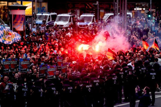 Γερμανία: Ποιος ευθύνεται για τις επεισοδιακές διαδηλώσεις στο Κέμνιτς | tanea.gr