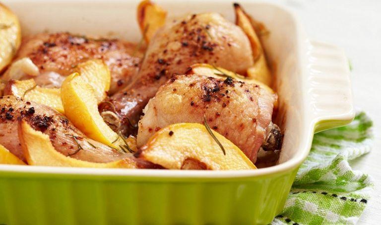 Κοτόπουλο με κυδώνια ή αχλαδοκύδωνα | tanea.gr