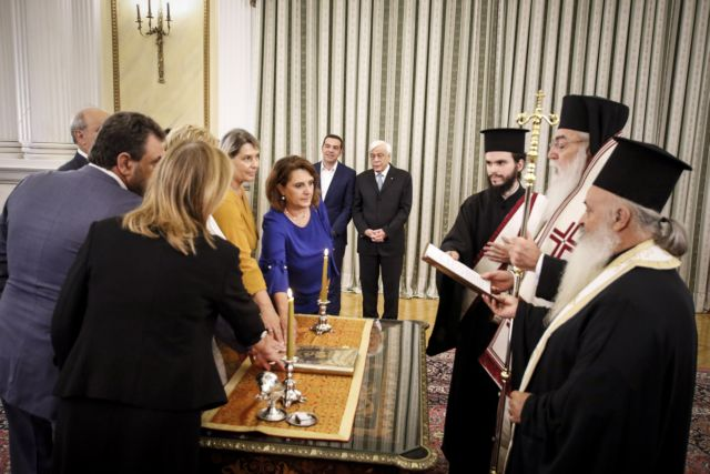 Ορκίστηκε η νέα κυβέρνηση | tanea.gr