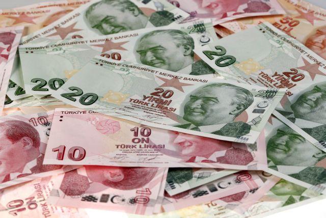 Νέο ρεκόρ πτώσης της τουρκικής λίρας | tanea.gr