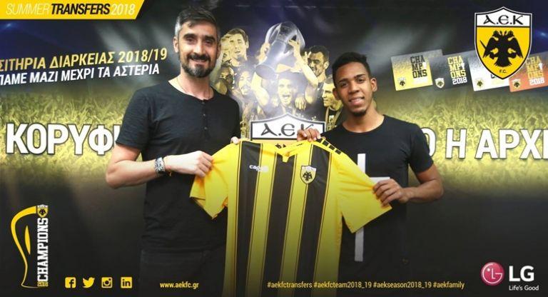 Η ΑΕΚ ανακοίνωσε την απόκτηση του Πέδρο Βίτορ | tanea.gr