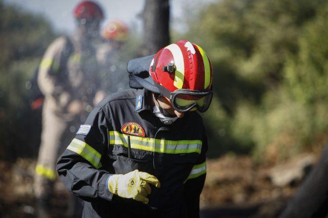 Υπό έλεγχο η πυρκαγιά στη Βραυρώνα Αττικής | tanea.gr