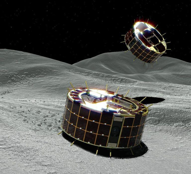 Τα ρομποτικά «ρόβερ» του ιαπωνικού Hayabusa2 στον αστεροειδή Ριούγκου | tanea.gr