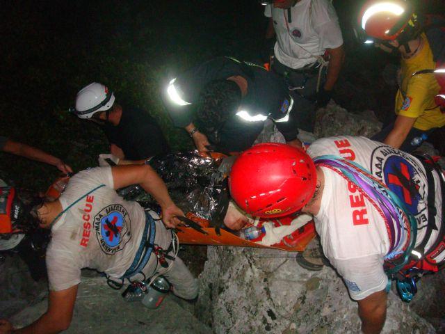 Ολοκληρώθηκε η διάσωση 18χρονου Βέλγου στον Όλυμπο | tanea.gr