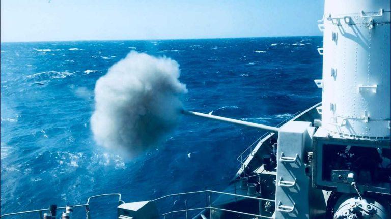Σε πλήρη ανάπτυξη ο Στόλος στο Αιγαίο με οκτώ μποφόρ (φωτογραφίες) | tanea.gr