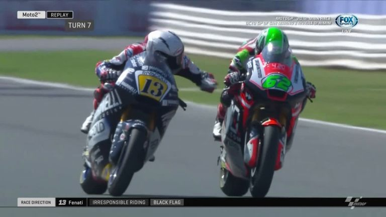 Κατακραυγή για τον αναβάτη του MotoGP που πάτησε εσκεμμένα το φρένο συναθλητή του | tanea.gr