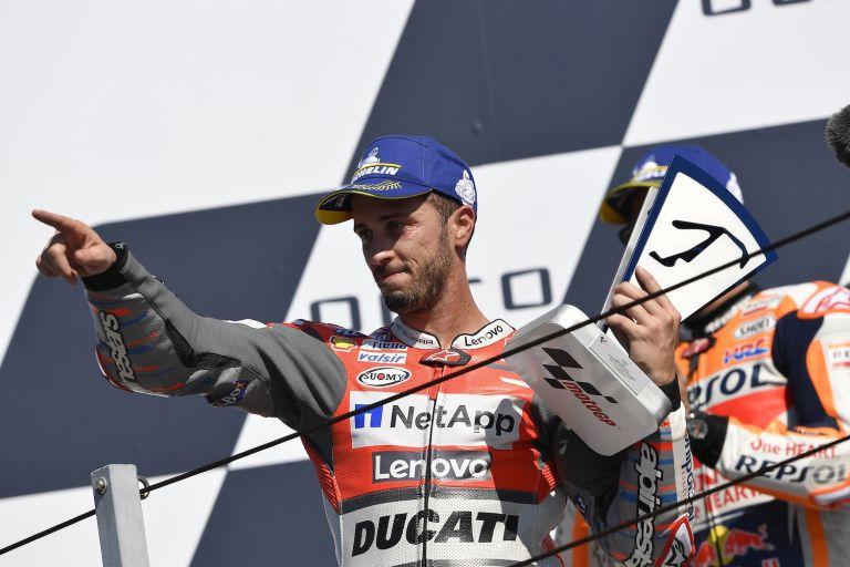 Νίκη για Ντοβιτσιόζο και Ducati στο Σαν Μαρίνο   tanea.gr