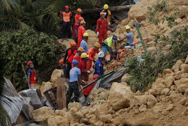 Στους 12 οι νεκροί μετά την κατολίσθηση στις Φιλιππίνες | tanea.gr