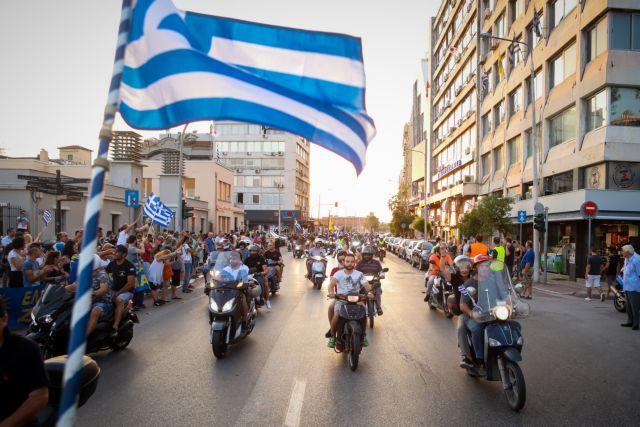 Μηχανοκίνητη πορεία εργαζομένων στους ΟΤΑ για τους συμβασιούχους | tanea.gr