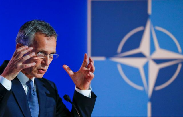 Nato's Stoltenberg to brief Tsipras on FYROM's Nato accession process | tanea.gr