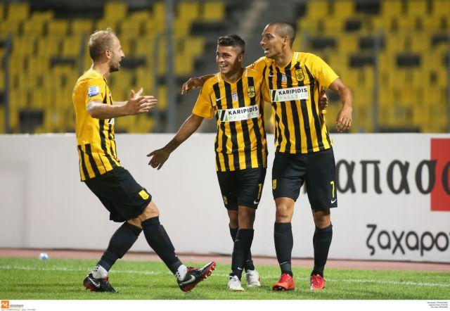 Δεύτερη νίκη για τον Αρη, 2-0 τη Λάρισα   tanea.gr
