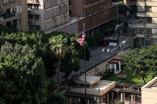 Επίθεση αυτοκτονίας κοντά στην πρεσβεία των ΗΠΑ στο Κάιρο (video) | tanea.gr