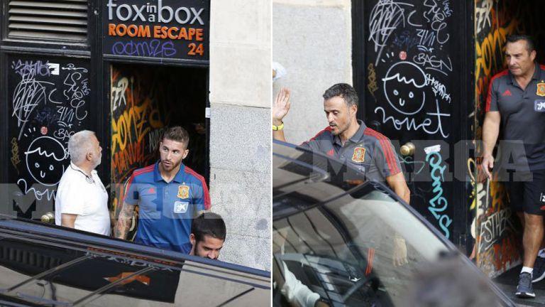 Φοβερό: Ο Λουίς Ενρίκε πήγε την Εθνική Ισπανίας σε escape room! (pics) | tanea.gr