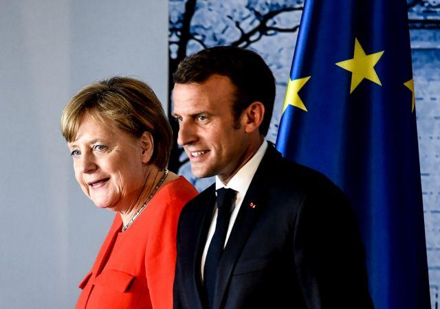 Συνάντηση Μακρόν – Μέρκελ για τον «προοδευτικό άξονα» της ΕΕ | tanea.gr